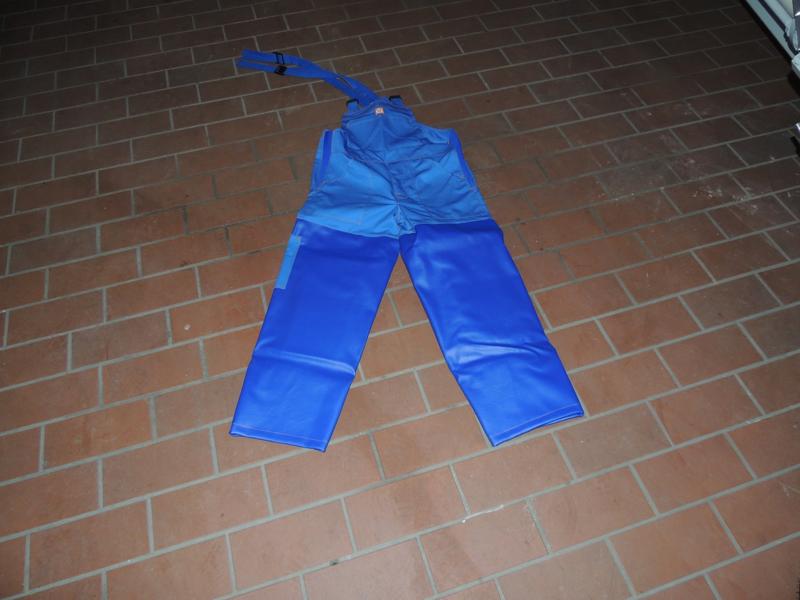 Estrichleger Latzhose Blau