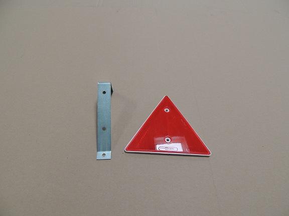 Dreieckrückstrahler mit Halter